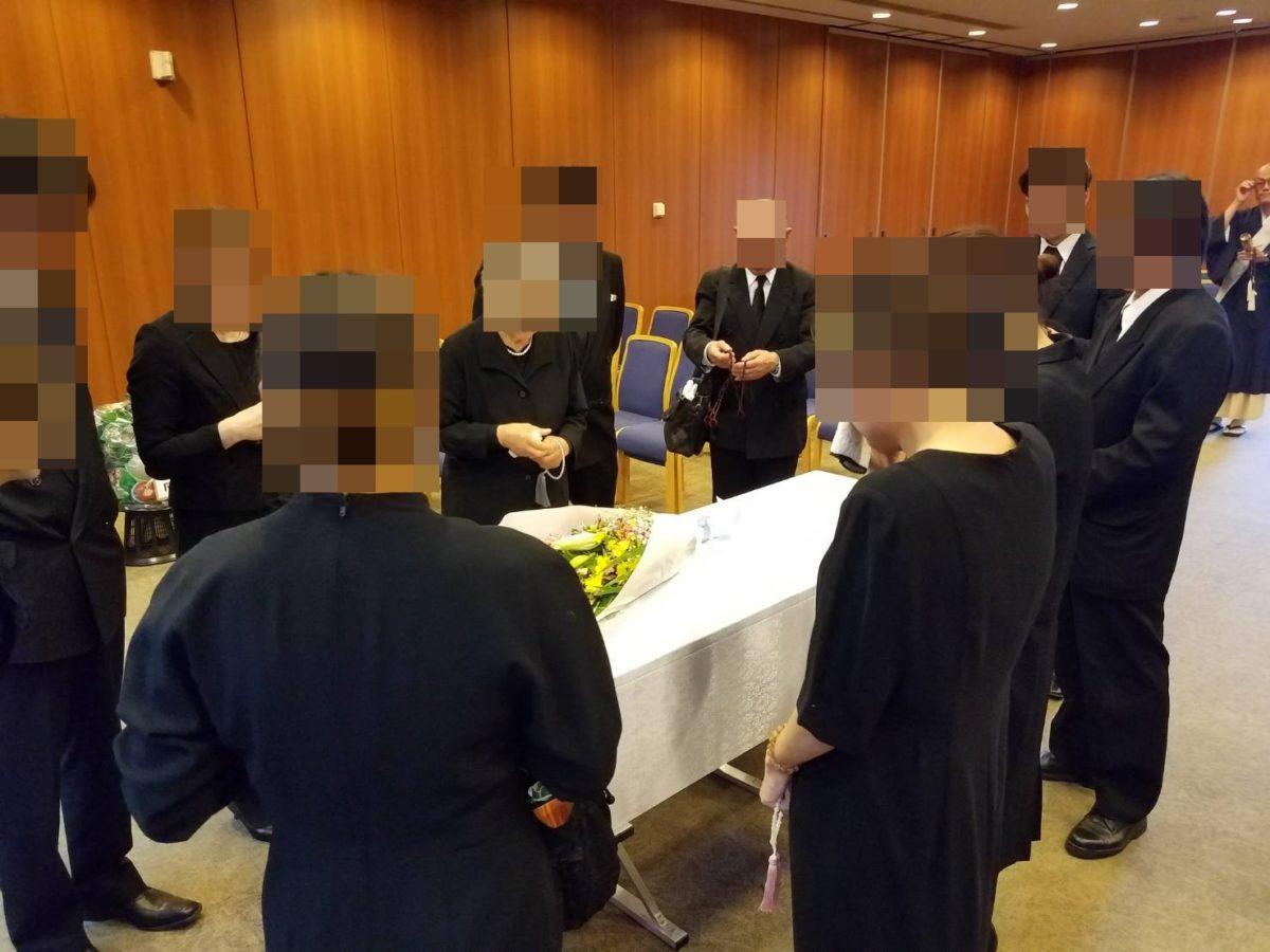 瓜破斎場 家族葬