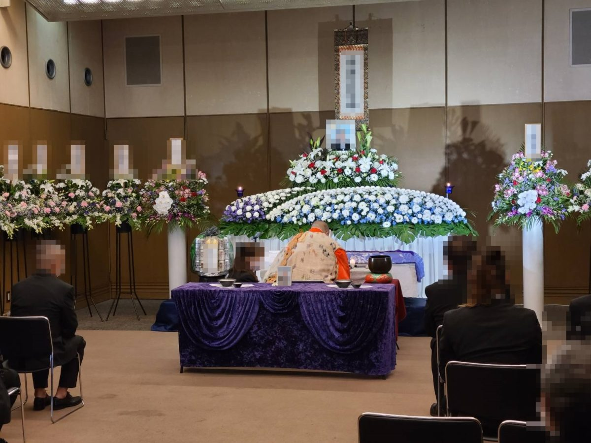 大阪市立北斎場 家族葬