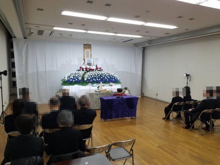 大阪市住吉区 庭井会館 家族葬