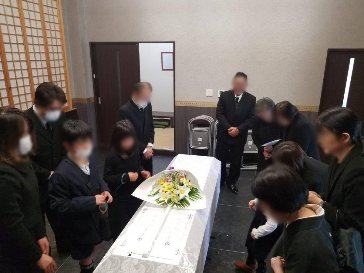 河内長野市 金剛寺に於いて家族葬