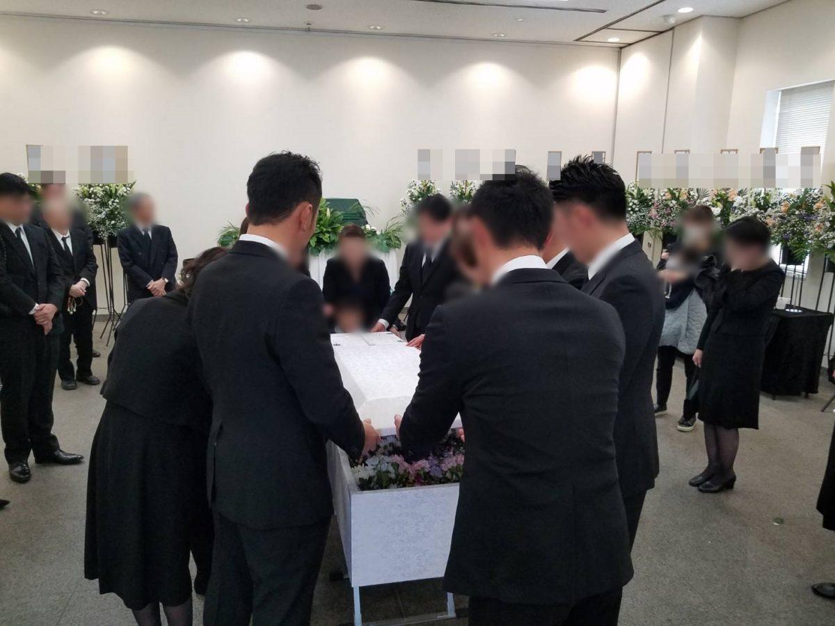 大阪市立瓜破斎場に於いて家族葬