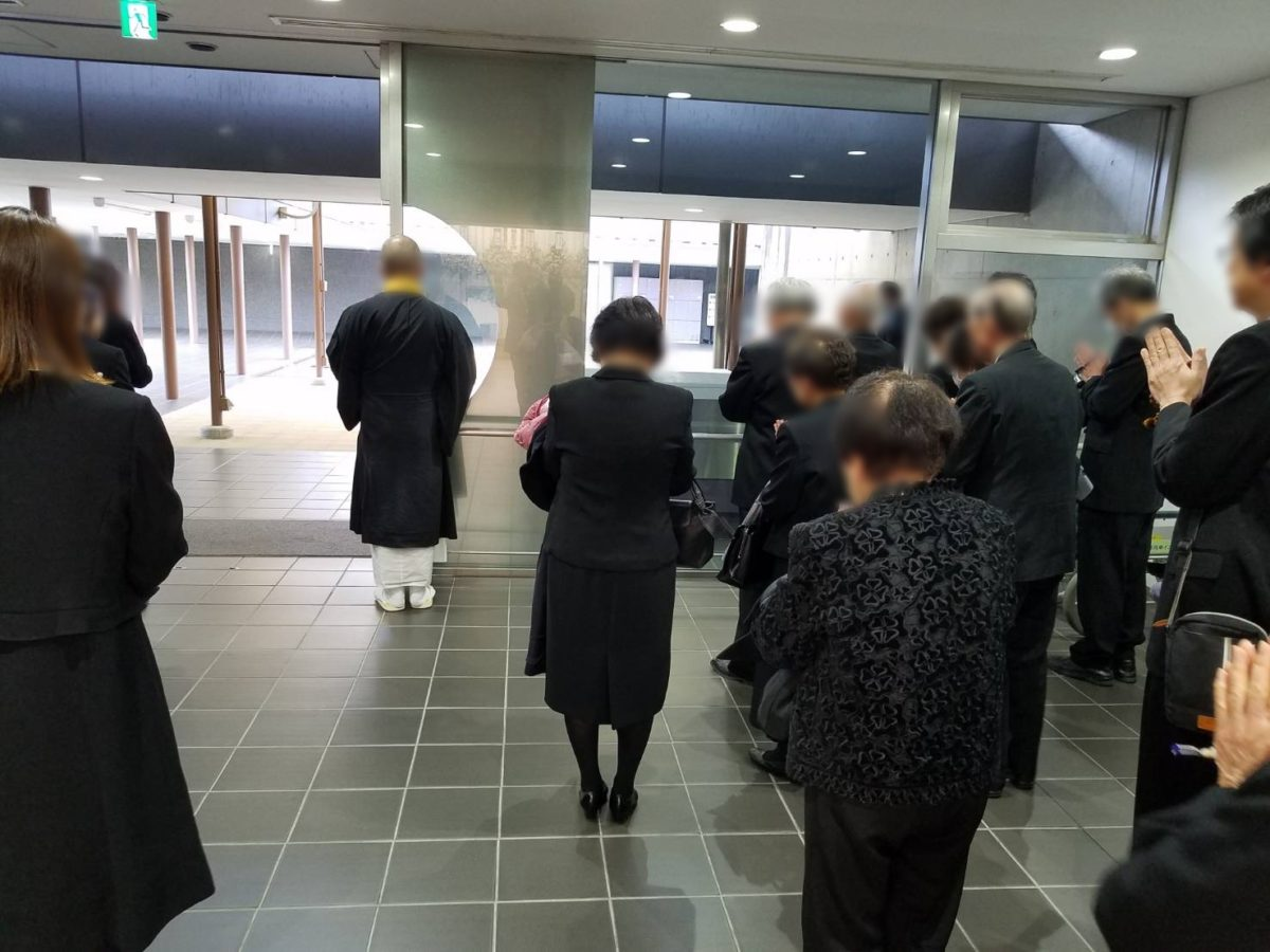 堺市立斎場に於いて家族葬