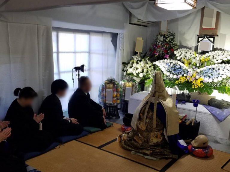 大阪市平野区 自宅 家族葬