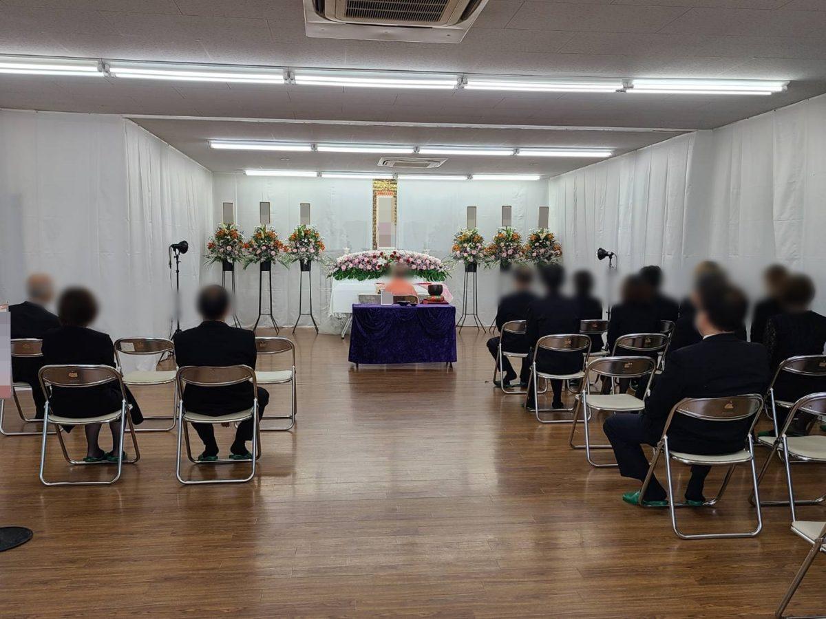新平野西コミュニティー会館 一日葬