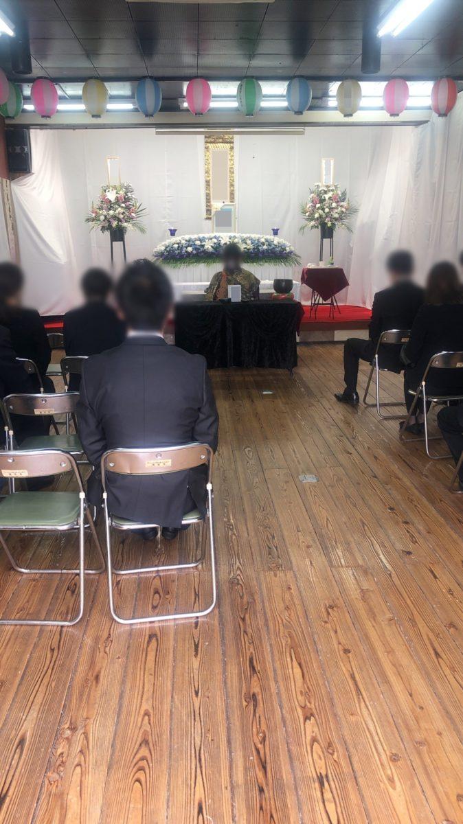 生野区 瑞光寺カトレアホール 一日葬