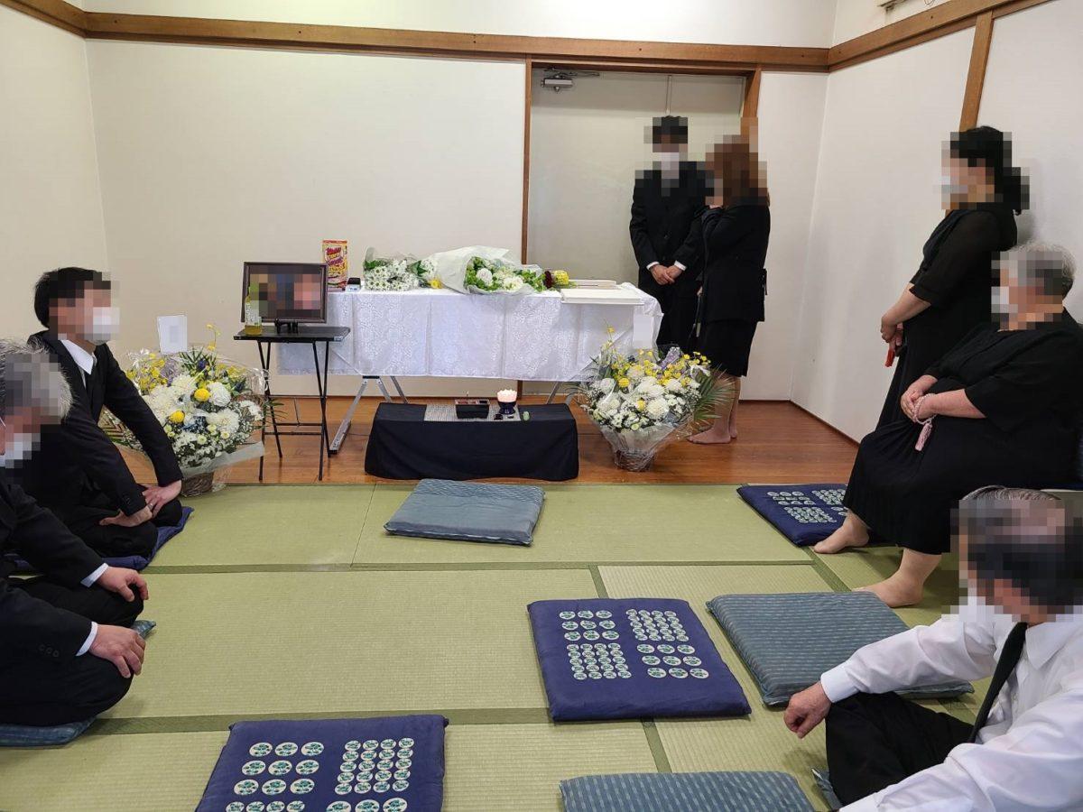 大阪市立小林斎場 火葬式 お別れあり