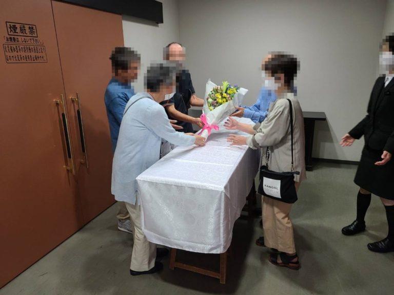 和泉市立いずみ霊園 火葬式